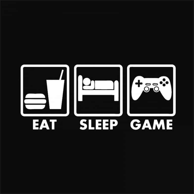 Eat-Sleep-Game Póló -