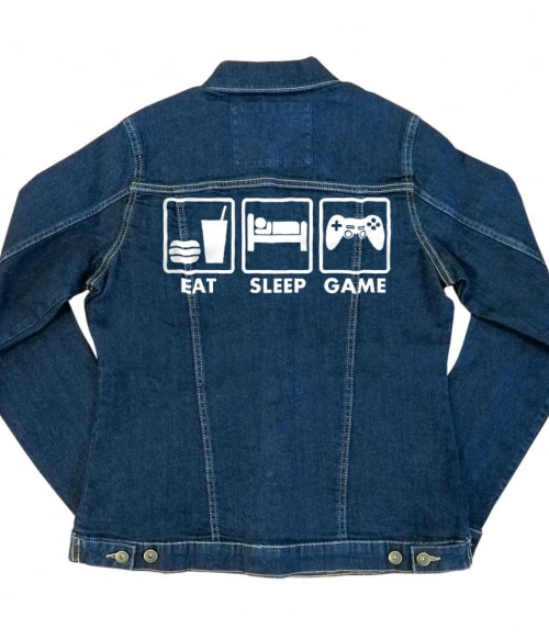 Eat-Sleep-Game Póló -