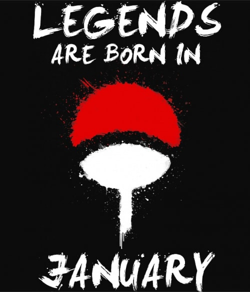 Uchiha Legends January Póló - Naruto