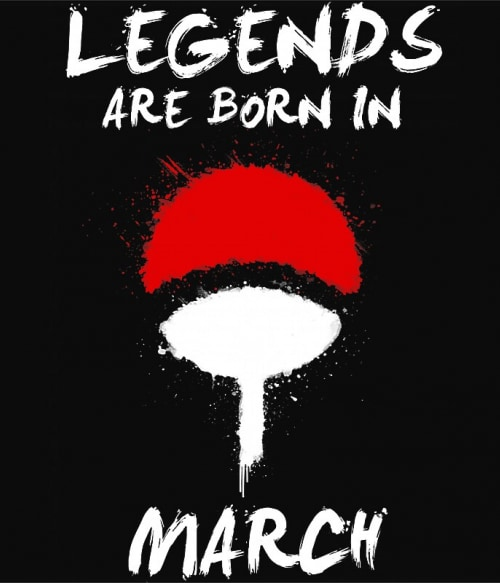 Uchiha Legends March Póló - Naruto