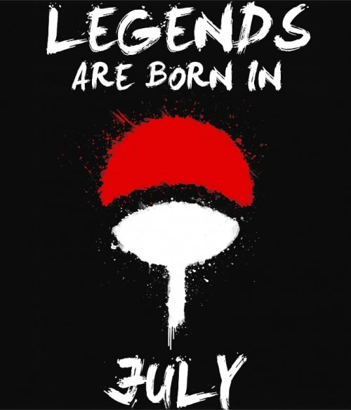 Uchiha Legends July Póló - Naruto