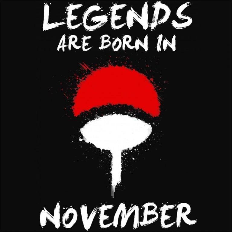 Uchiha Legends November Póló - Naruto