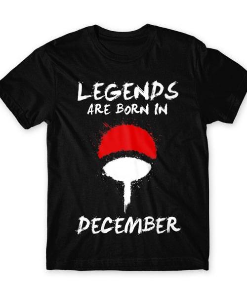 Uchiha Legends December Póló - Naruto