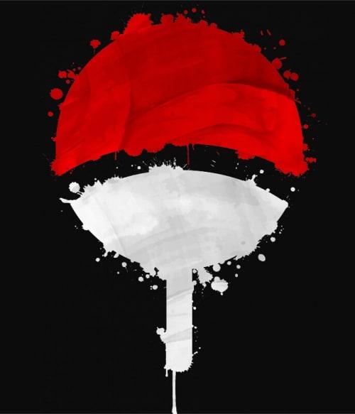 Uchiha symbol Póló - Naruto