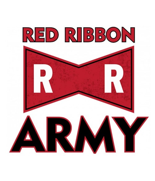 Red Ribbon logo Póló - Dragon Ball - VikingSkull