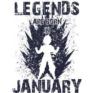 DragonBall Legends Január Póló - DragonBall Z - VikingSkull