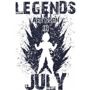 DragonBall Legends Július Póló - DragonBall Z - VikingSkull