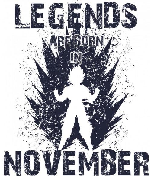 DragonBall Legends November Póló - DragonBall Z - VikingSkull